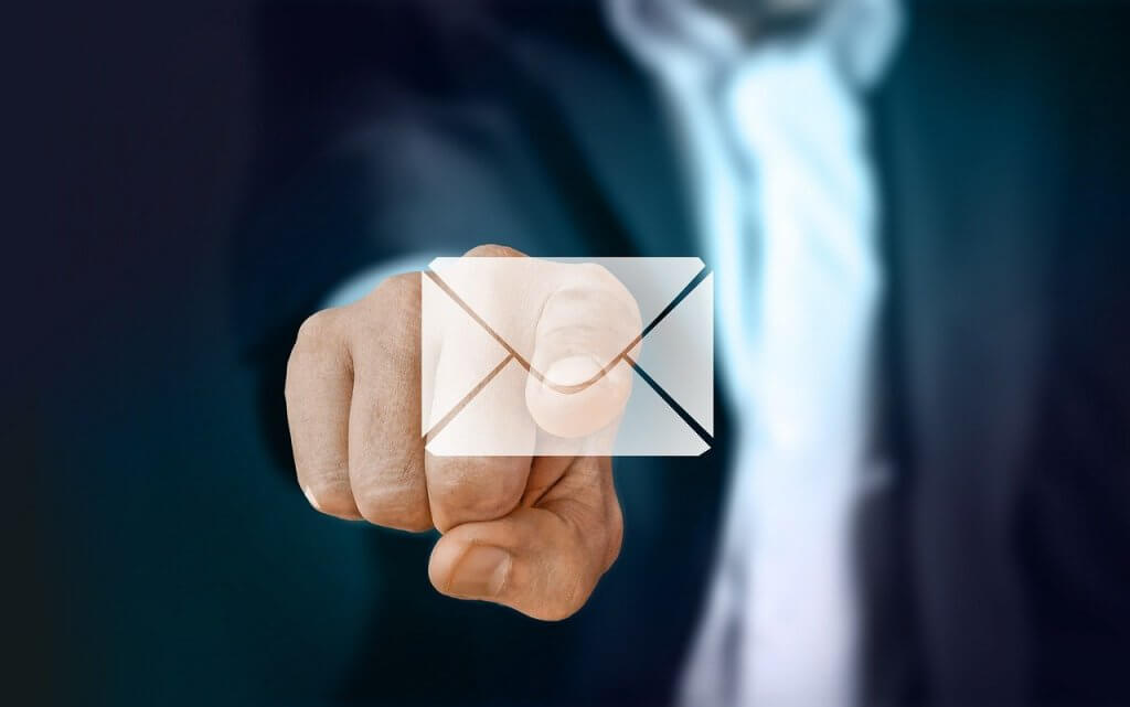 מכתב התראה במייל